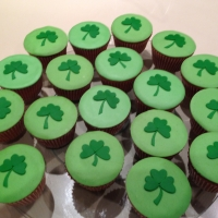 St. Patrick's Day Cupcake