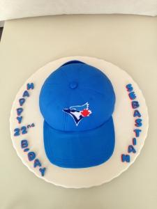 Blue jays cake 2